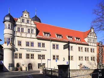 Hotel Quedlinburger Stadtschloss - Hagensches Freihaus Quedlinburg, . (Bild 100-5711)