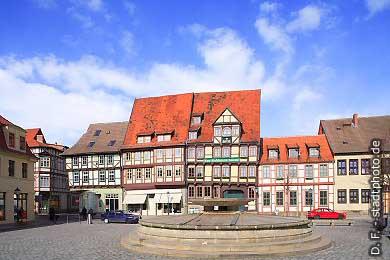 Quedlinburg: Mathildenbrunnen. (Bild 100-5780)