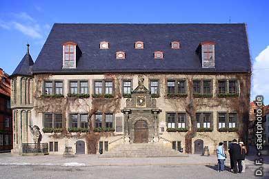 Quedlinburg: Rathaus am Markt. (Bild 100-5785)