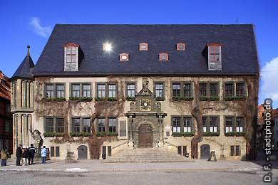 Quedlinburg: Rathaus am Markt. (Bild 100-5787)
