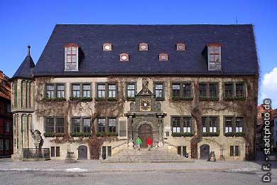 Quedlinburg: Rathaus am Markt. (Bild 100-5790)