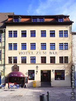"Hotel ""Zum Bär"" Quedlinburg, Markt. (Bild 100-5816)"