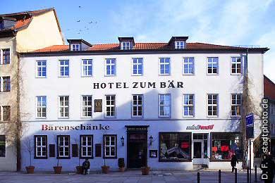 "Hotel ""Zum Bär"" Quedlinburg, Markt. (Bild 100-5817)"