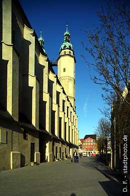 Marktkirche Halle / Saale, An der Marienkirche 2  Marktplatz. (Bild 102-3584)