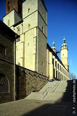 Marktkirche Halle / Saale, An der Marienkirche 2  Marktplatz. (Bild 102-3586)