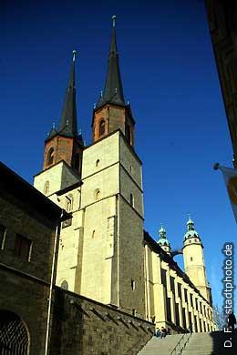 Marktkirche Halle / Saale, An der Marienkirche 2  Marktplatz. (Bild 102-3588)