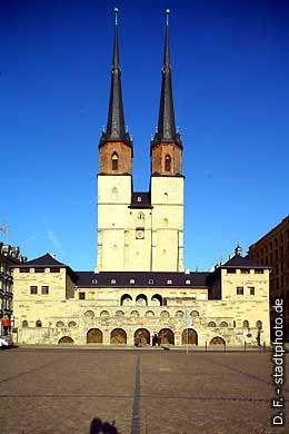 Marktkirche Halle / Saale, An der Marienkirche 2  Marktplatz. (Bild 102-3592)