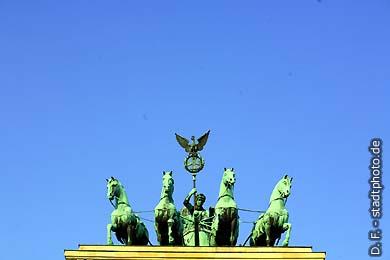 Berlin: Brandenburger Tor. (Bild 102-4202)