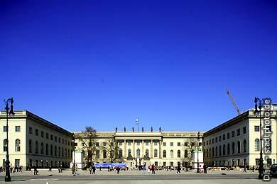 Humboldt-UniversitätHauptgebäude Berlin, Unter den Linden 6. (Bild 102-4285)