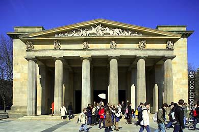 Neue Wache (Karl Friedrich Schinkel) Berlin, Unter den Linden. (Bild 102-4302)