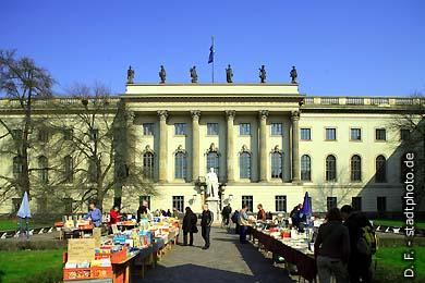Humboldt-Universität (Hauptgebäude) Berlin, Unter den Linden 6. (Bild 102-4541)