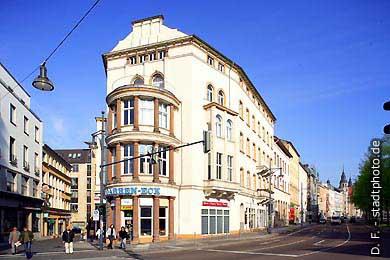 Halle / Saale: Am Stadtring / Ecke Leipziger Straße. (Bild 102-6416)