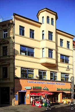 Contactlinsen Institut Schröder Halle / Saale, Leipziger Straße. (Bild 102-6424)