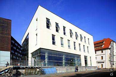Mitteldeutsches Multimedia Zentrum Halle / Saale, Mansfelder Straße 56. Mitteldeutsches Multimedia Zentrum (MMZ) der Martin Luther Universität (MLU) Halle. (Bild 102-6455)