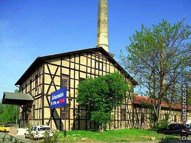 Halle / Saale: Saline. (Bild 102-6476)