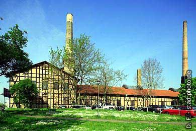 Halle / Saale: Saline. (Bild 102-6479)