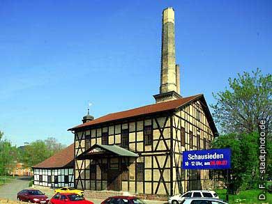 Halle / Saale: Saline. (Bild 102-6489)