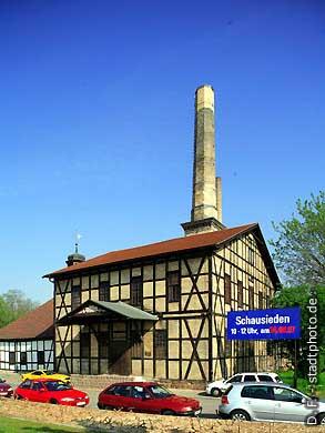 Halle / Saale: Saline. (Bild 102-6490)