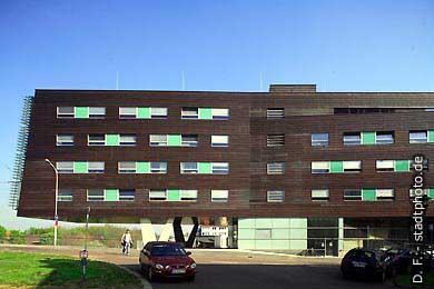 Mitteldeutsches Multimedia Zentrum Halle / Saale, Mansfelder Straße 56. Mitteldeutsches Multimedia Zentrum (MMZ) der Martin Luther Universität (MLU) Halle. (Bild 102-6497)