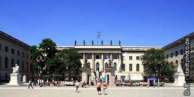 Berlin: Humboldt-Universität (Hauptgebäude) Unter den Linden 6. (Bild 103-2828)