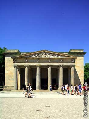 Neue Wache Berlin, Unter den Linden. Neue Wache (Karl Friedrich Schinkel). (Bild 103-2893)