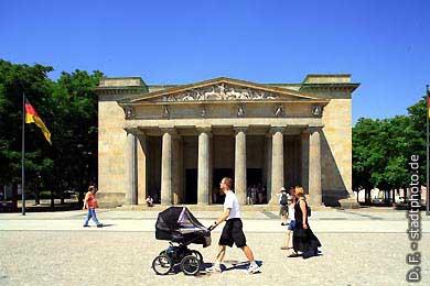 Neue Wache Berlin, Unter den Linden. Neue Wache (Karl Friedrich Schinkel). (Bild 103-2895)