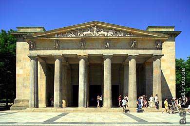 Neue Wache Berlin, Unter den Linden. Neue Wache (Karl Friedrich Schinkel). (Bild 103-2897)