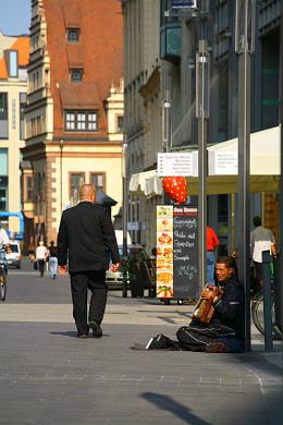 Leipzig: Grimmaische Straße. (Bild 106-5246)