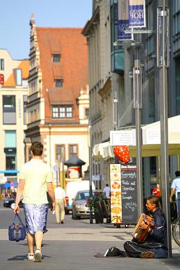 Leipzig: Grimmaische Straße. (Bild 106-5248)