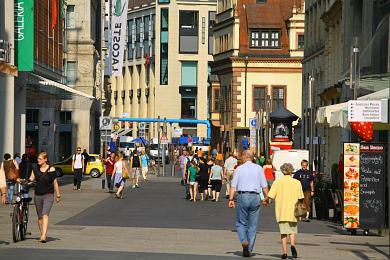 Leipzig: Grimmaische Straße. (Bild 106-5249)