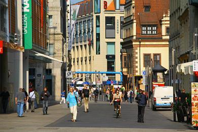 Leipzig: Grimmaische Straße. (Bild 106-5250)
