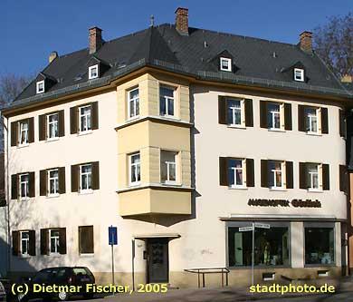 Optiker Görlich Taucha, Leipziger Straße 44a. Ladengeschäft von Joachim Görlich, staatlich geprüfter Augenoptiker. (Bild taucha-006)